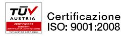 Logo Certificazione TUV
