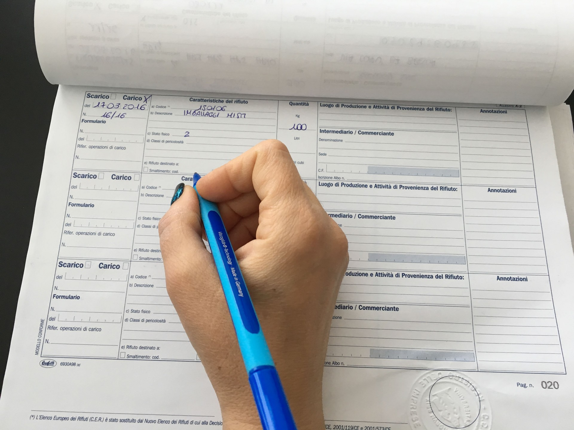 Corsi sulla corretta compilazione di formulari e registri rifiuti