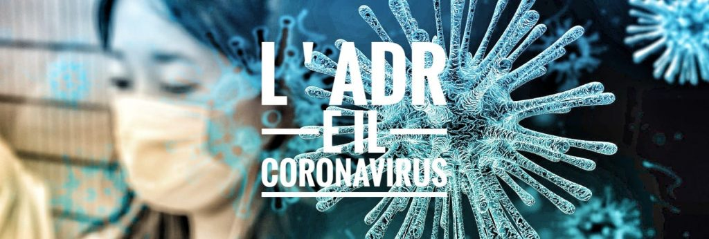 L'ADR e il Coronavirus