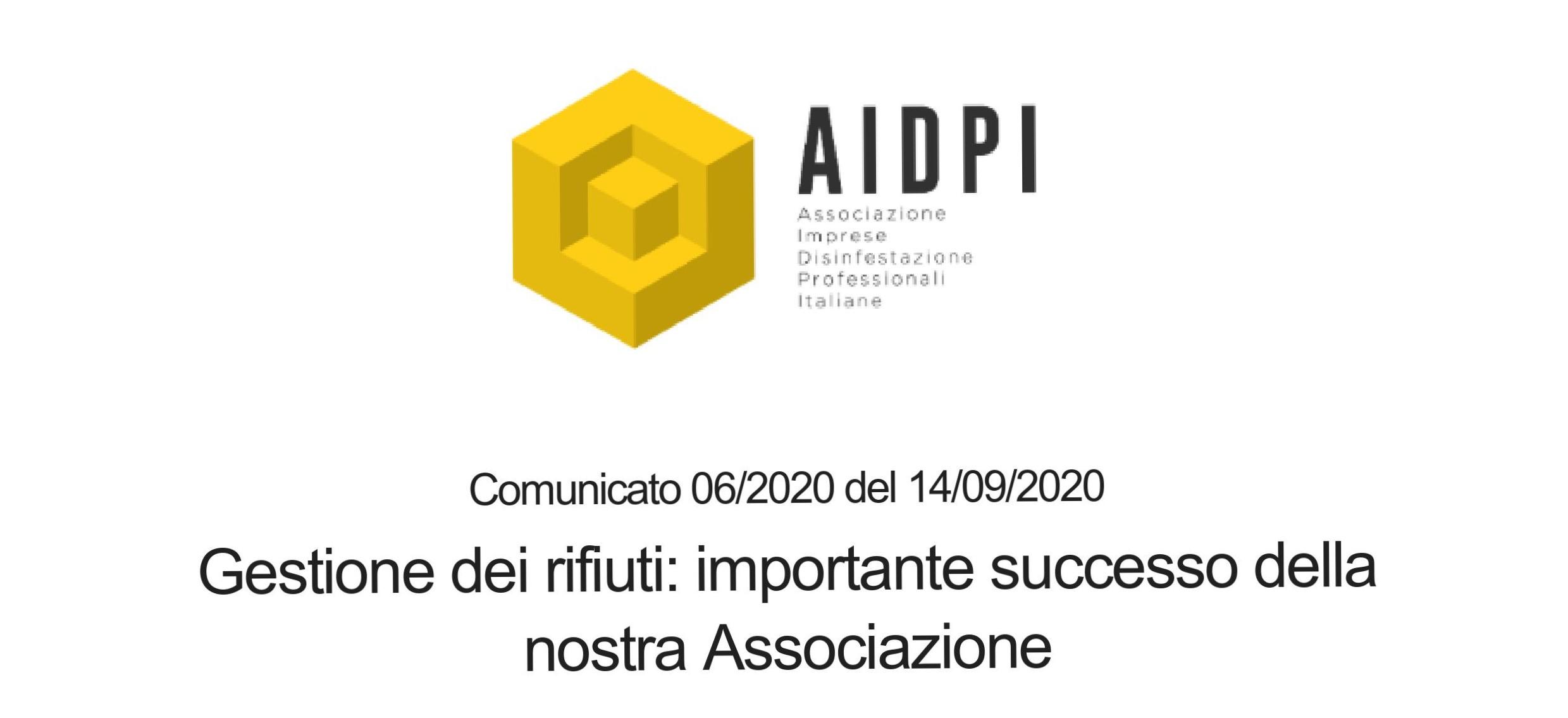Importante successo ottenuto insieme ad AIDPI