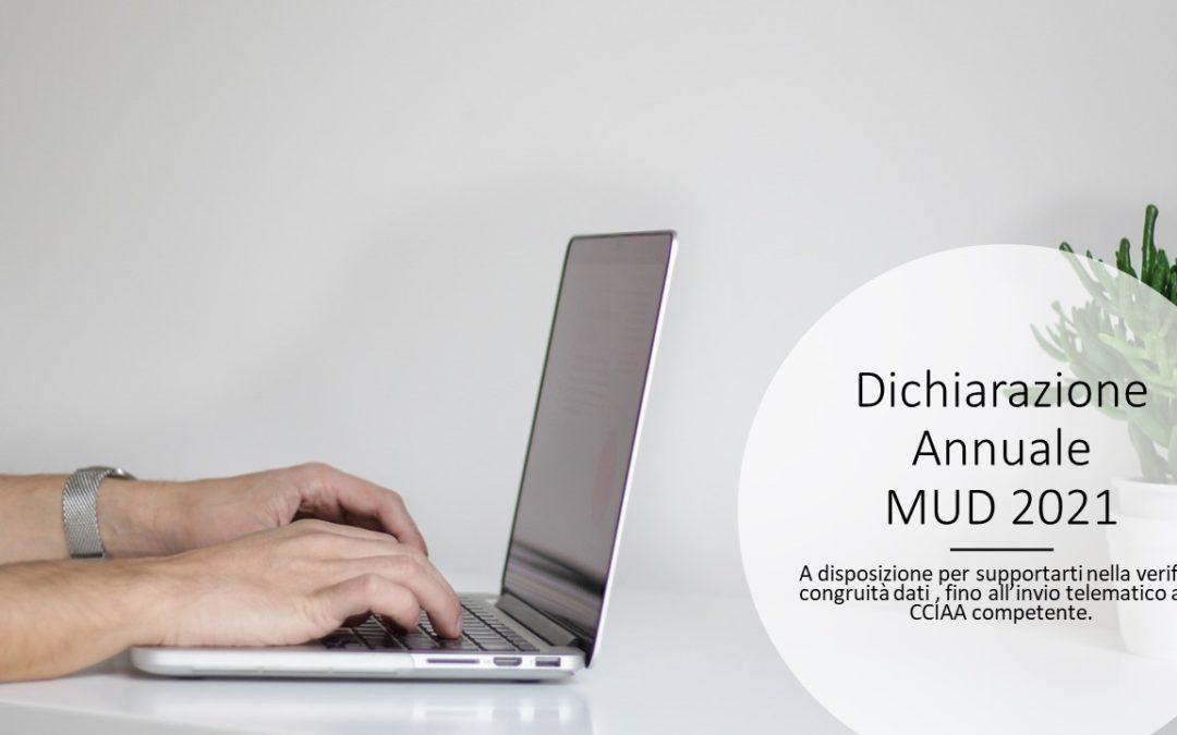 La dichiarazione Annuale MUD (Modello Unico di Dichiarazione)